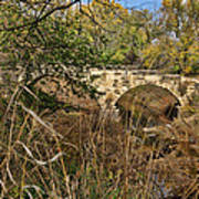 Diamond Creek Double Arch Bridge Art Print