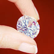 Diamond Art Print by Lawrence Lawry