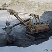 Diamond Mining, Sakha Art Print