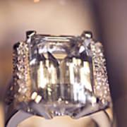 Diamond Ring. Spirit Of Treasure Art Print