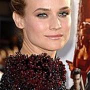 Diane Kruger At Arrivals For Premiere Art Print