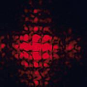 Diffraction Pattern Art Print