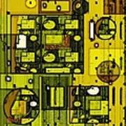 Digital Design 381 Art Print