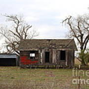 Dilapidated Old Farm House . 7d10341 Art Print by Wingsdomain Art and Photography