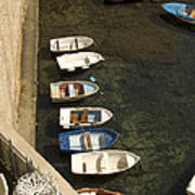 Dinghy's In Dubrovnik Art Print