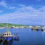 Dingle Town & Harbour, Co Kerry, Ireland Art Print