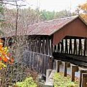 Dingleton Hill Covered Bridge Art Print