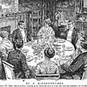 Dinner Party, 1915 Art Print