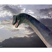 Dinosaur Sky Art Print