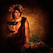 Dionysus Art Print by Lourry Legarde
