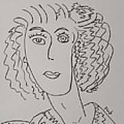 Direct Woman Art Print