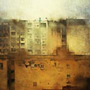 Dirty City View Art Print