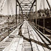 Discarded Bridges Art Print