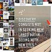 Discovery Is So Art Print