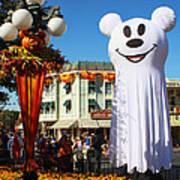 Disneyland Halloween 1 Art Print