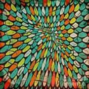 Disperse Art Print by Ankeeta Bansal
