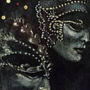 Distant Faces Art Print