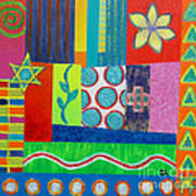 Diversity Has Proven God Is Love V2 Art Print by Jeremy Aiyadurai