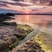 Divine Sunset Art Print