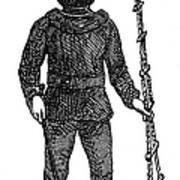 Diving Suit, 1855 Art Print