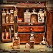 Doctor - The Medicine Cabinet Art Print