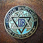 Dodge Brothers Badge Art Print by Steve McKinzie