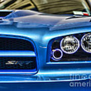 Dodge Charger Front Art Print