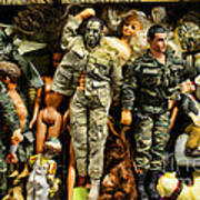 Doll - Gi Joe In Camo Art Print
