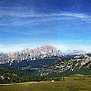 Dolomiti's Panoramic Art Print