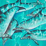 Dolphin Pod Art Print