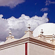 Dome Of The Mission San Xavier Art Print