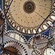 Domed Roof Of Rustem Pasa Mosque Art Print