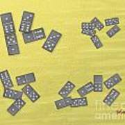 Domino Clusters Art Print