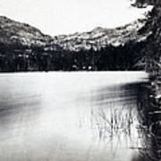 Donner Lake And Pass - California - C 1865 Art Print