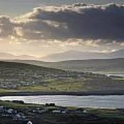 Dooagh, Achill Island, Co Mayo, Ireland Art Print