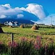 Dooega, Achill Island, County Mayo Art Print