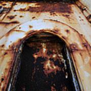 Door Of Rust Art Print