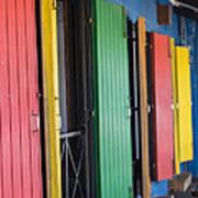 Doors Of Colors Art Print