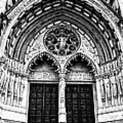 Doors To Saint John The Divine Art Print
