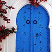 Doorway In Tunisia 1 Art Print
