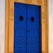 Doorway In Tunisia 2 Art Print