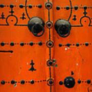 Doorway In Tunisia 6 Art Print