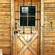 Doorway To Yesterday Art Print