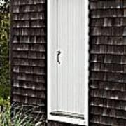 Doorway With Daisies Art Print by Michelle Wiarda