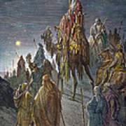 Dor�: Journey Of The Magi Art Print