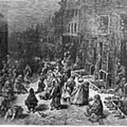 Dor�: London, 1872 Art Print