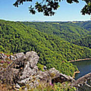 Dordogne Valley Art Print