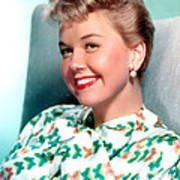 Doris Day, Warner Brothers, 1950s Art Print