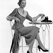 Dorothy Mcguire, Ca. 1950s Art Print by Everett