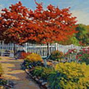 Dotti's Garden Autumn Art Print